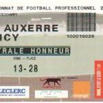 Billet Auxerre-Nancy - Saison 2007-2008 - L1 (23e j., 26/01/2008)