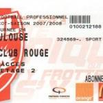 Billet Nancy-Toulouse - Saison 2007-2008 - L1 (24e j., 09/02/2008)