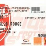 Billet Nancy-Lens - Saison 2007-2008 - L1 (26e j., 23/02/2008)