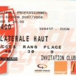 Billet Nancy-Monaco - Saison 2007-2008 - L1 (28e j., 08/03/2008)