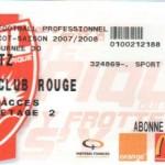 Billet Nancy-Metz - Saison 2007-2008 - L1 (30e j., 22/03/2008)