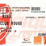 Billet Nancy-Le Mans - Saison 2007-2008 - L1 (34e j., 19/04/2008)