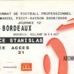 Billet Nancy-Bordeaux - Saison 2008-2009 - L1 (12e j., 01/11/2008)