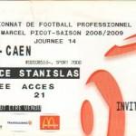 Billet Nancy-Caen - Saison 2008-2009 - L1 (14e j., 15/11/2008)