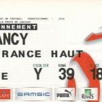 Billet Rennes-Nancy - Saison 2008-2009 - L1 (24e j., 14/02/2009)