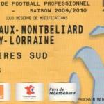 Billet Sochaux-Nancy - Saison 2009-2010 - L1 (23e j., 06/02/2010)