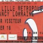 Billet Lille-Nancy - Saison 2009-2010 - L1 (35e j., 02/05/2010)