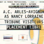 Billet Arles-Avignon-Nancy - Saison 2010-2011 - L1 (16e j., 04/12/2010)