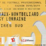 Billet Sochaux-Nancy - Saison 2010-2011 - L1 (33e j. 30/04/2011)
