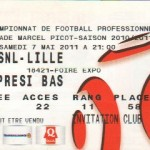 Billet Nancy-Lille - Saison 2010-2011 - L1 (34e j., 07/05/2011)