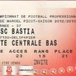 Billet Nancy-Bastia - Saison 2012-2013 - L1 (37e j., 18/05/2013)