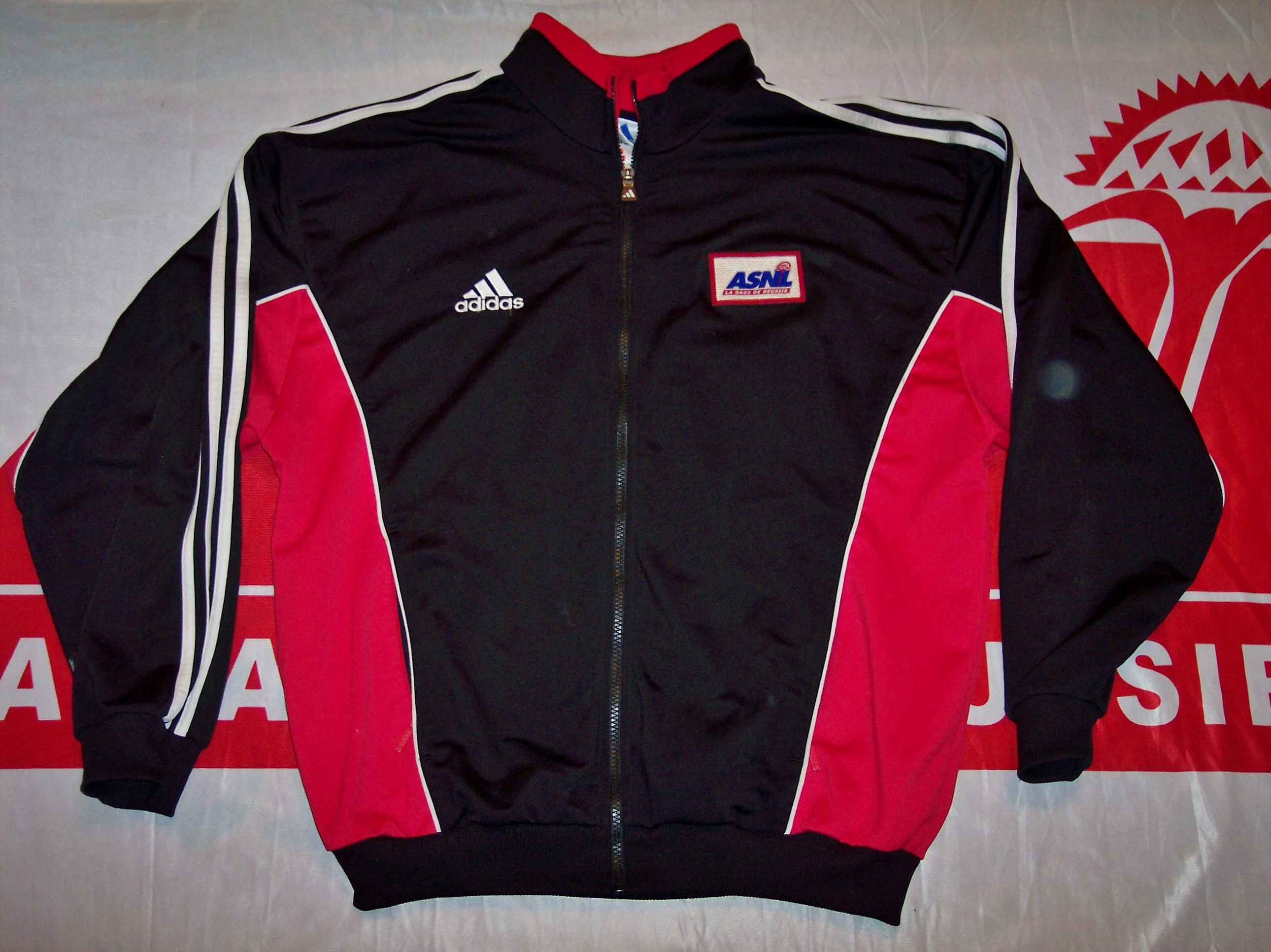 Gilet ASNL 1999-2000 (Collection : ASNL-Infos)
