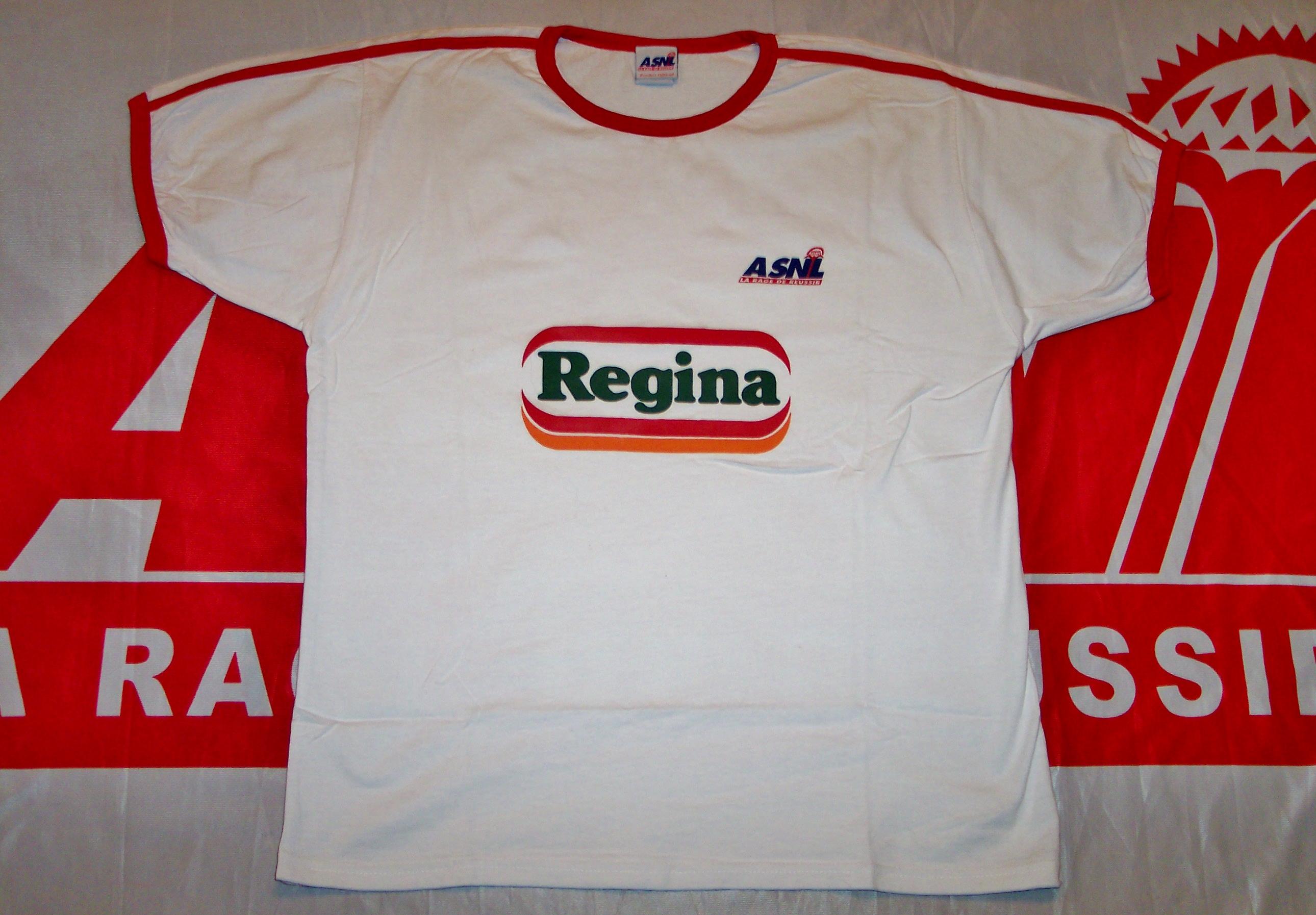 maillot ASNL Régina  (Collection : ASNL-Infos)
