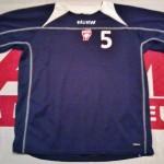 Maillot entrainement porté André Luiz - Saison 2007-2008  (Collection : ASNL-Infos)