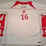 Maillot entrainement porté par Grégorini - Saison 2008-2009  (Collection : ASNL-Infos)