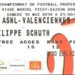 Billet Nancy-Valenciennes - Saison 2009-2010 - L1 (38e j., 15/05/2010) [Collection privée ticketsva.wifeo.com]
