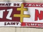 Écharpe FC Metz-ASNL [Collection privée tribasnl]