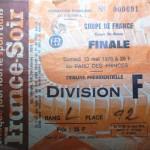 Match Nice-Nancy - Saison 1977-1978 - Coupe de France (finale, Parc des Princes, 13/05/1978) [Collection privée Claudio]