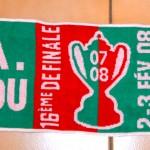 Écharpe Carquefou-Nancy - Saison 2007-2008 Coupe de France (16e de finale, 02/02/2008)