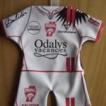 Mini maillot ASNL - Saison 2007-2008 recto [Collection privée tribasnl]