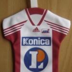 Mini maillot ASNL - Saison 1999-2000 recto [Collection privée tribasnl]