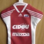 Mini maillot ASNL - Saison 1999-2000 verso [Collection privée tribasnl]