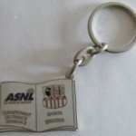 Porte-clé ASNL-Ajaccio - Saison 2000-2001 [Collection privée tribasnl]