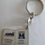 Porte-clé ASNL-Montpellier - Saison 2000-2001 [Collection privée tribasnl]
