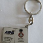 Porte-clé ASNL-Nice - Saison 2000-2001 [Collection privée tribasnl]