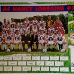 Poster ASNL Saison 1997-1998