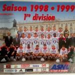 Poster ASNL Saison 1998-1999