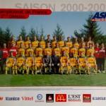 Poster ASNL Saison 2000-2001