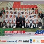 Poster ASNL Saison 2002-2003
