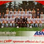 Poster ASNL Saison 2003-2004