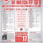 Saison 2013-2014 Journée 01 Feuille de match n°01