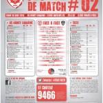 Saison 2013-2014 Journée 02 Feuille de match n°02