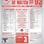 Saison 2013-2014 Journée 03 Feuille de match n°03