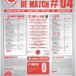 Saison 2013-2014 Journée 04 Feuille de match n°04