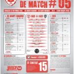 Saison 2013-2014 Journée 05 Feuille de match n°05