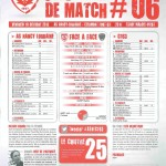 Saison 2013-2014 Journée 06 Feuille de match n°06