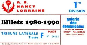 Vignette Billets 1980-1990