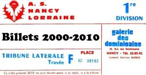 Vignette Billets 2000-2010