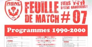 Vignette Programmes 1990-2000