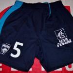 Short championnat extérieur porté/préparé (André Luiz) - Saison 2011-2012 [Collection privée d'ASNL-Infos (Officiel)]