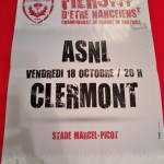 Affiche Nancy-Clermont - Saison 2013-2014 - L2 (11e j., 18/10/2013) [Collection privée d'ASNL-Infos (Officiel)]