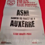 Affiche Nancy-Auxerre - Saison 2013-2014 - L2 (1re j., 03/08/2013) - [Collection privée d'ASNL-Infos (Officiel)]