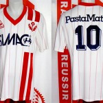 Maillot championnat domicile porté (Ruben Umpierrez) - saison 1983 1984 [collection privée Xavinos]