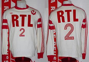 Maillot coupe de France porté - saison 1975 1976