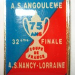 Pins 32eme Coupe de France Angouleme