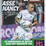 Programme ASSE-Nancy - Saison 2012-2013 (8e j., 05-10-2012)